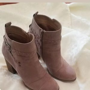 REPORT Beige Botties Size 8